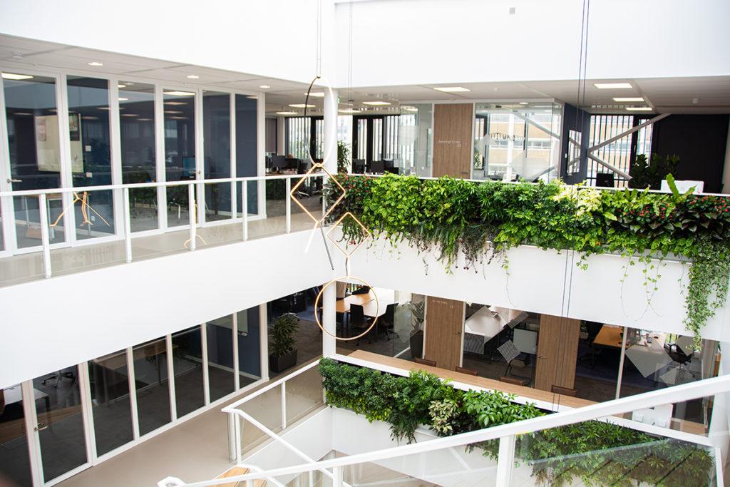 Bouwmanagement nieuw kantoor NTS Group